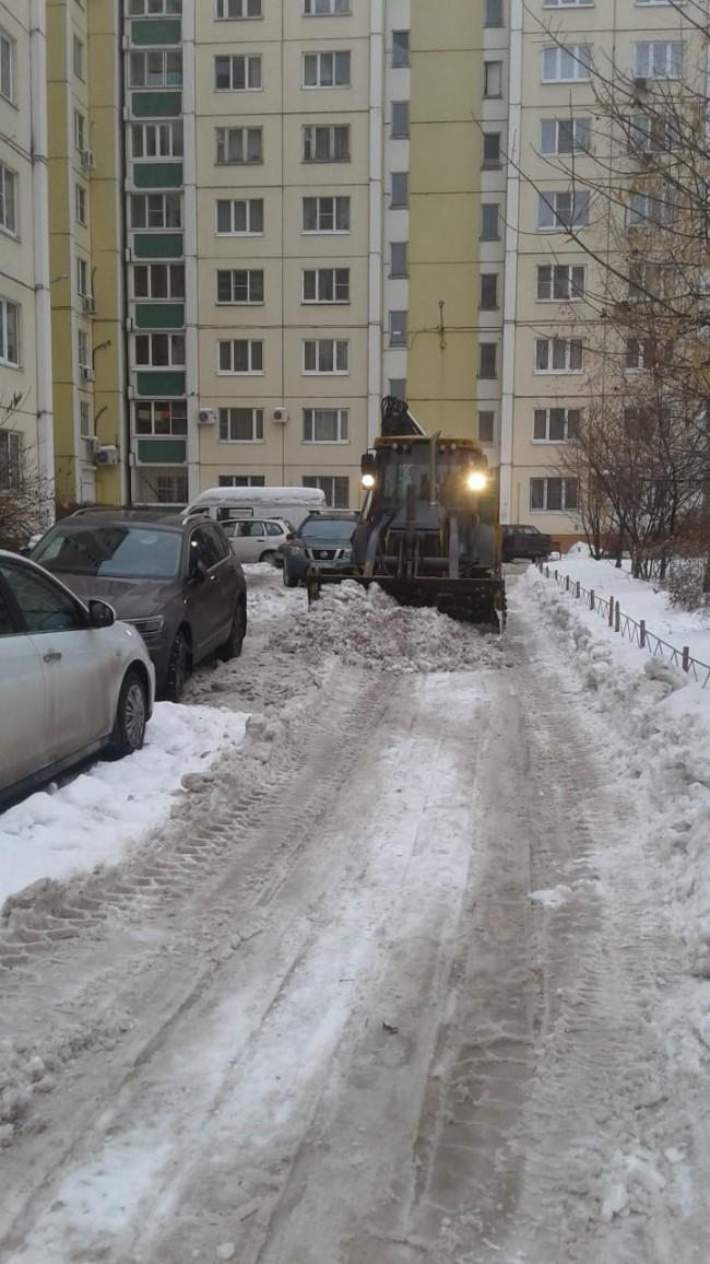 Навеска на мотоблок для уборки снега